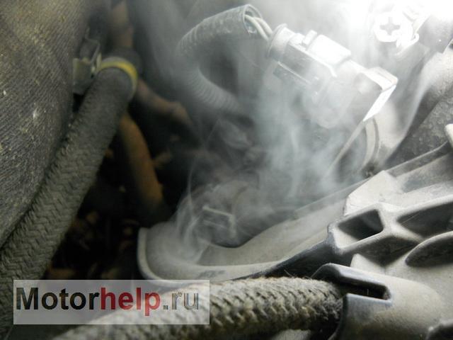 Диагностика подсоса воздуха во впускной коллектор