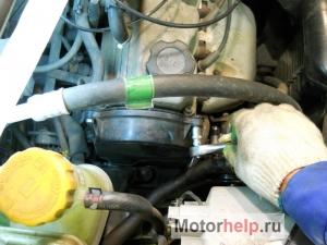 Замена ремня ГРМ на Daewoo Matiz