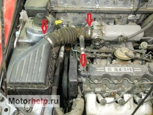 Замена ремня ГРМ на Chevrolet Lanos в фотографиях.