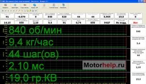 1329331240 ya 5.1 dvs. 1.5 8v - Чип тюнер ру параметры датчиков